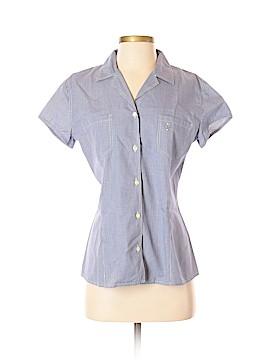 Les Copains Short Sleeve Button-Down Shirt Size M