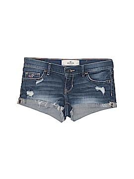 Hollister Denim Shorts Size 25 (Plus)