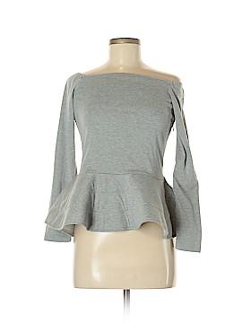 Allegra K Long Sleeve Top Size M
