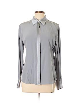 Lands' End Long Sleeve Silk Top Size 10