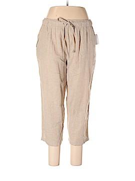 Basic Editions Linen Pants Size XL