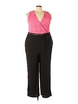 NY Collection Jumpsuit Size 3X (Plus)