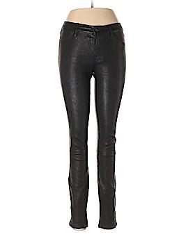 J Brand Leather Pants 27 Waist