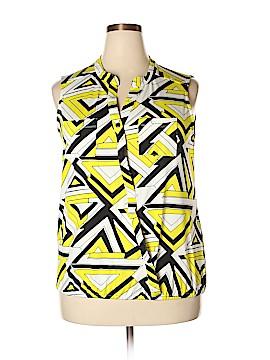 Ashley Stewart Short Sleeve Blouse Size 18 - 20 (Plus)