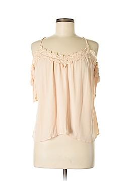 Doe & Rae Short Sleeve Blouse Size M