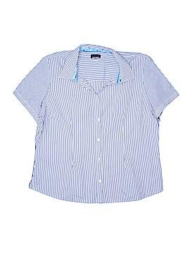 Basic Editions Short Sleeve Button-Down Shirt Size XXL