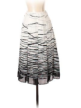 Linda Allard Ellen Tracy Silk Skirt Size 2