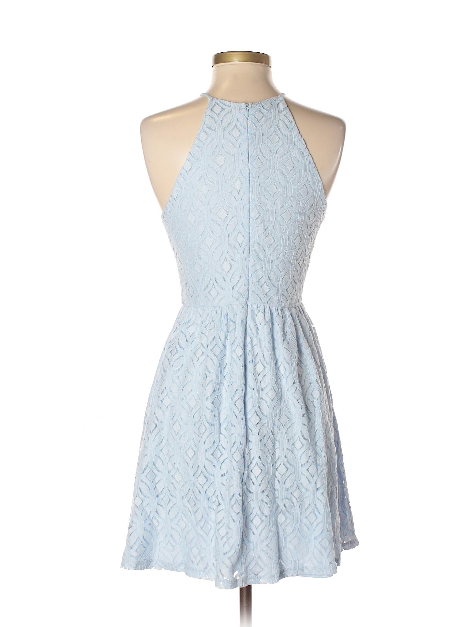 Boutique winter Casual Dress Aqua winter Boutique rxEqzwr8