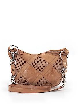 B Makowsky Leather Crossbody Bag One Size