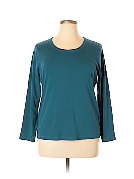 Preswick & Moore Long Sleeve T-Shirt Size 2X (Plus)