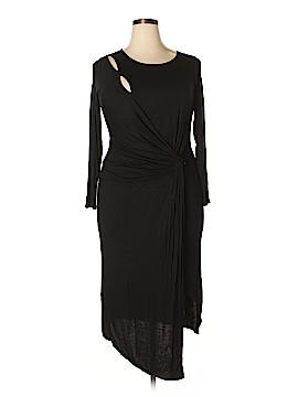 Milky Way Casual Dress Size 1X (Plus)