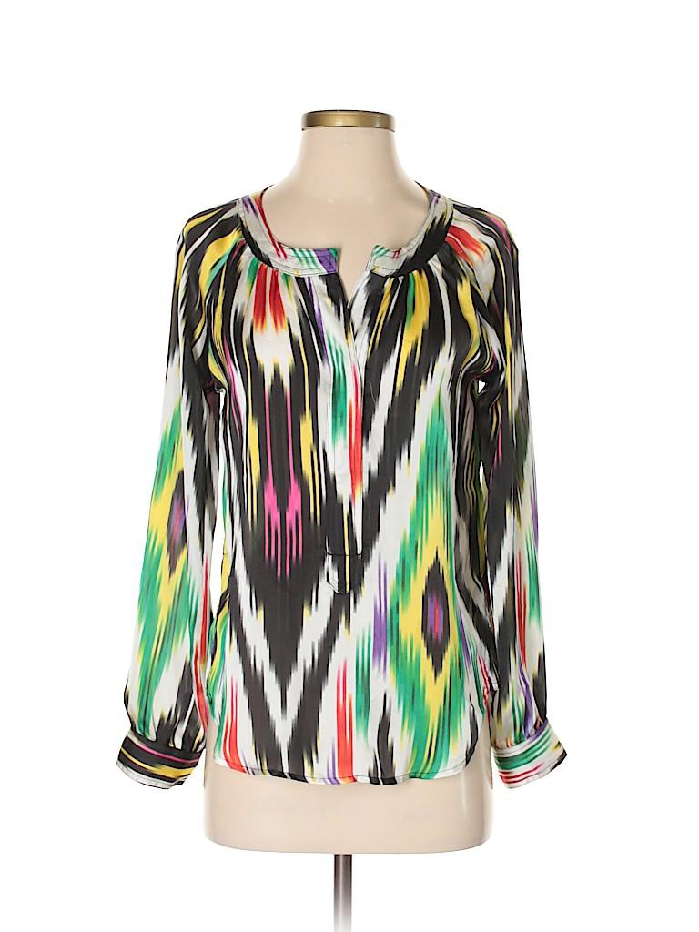 Patterson J. Kincaid Women Long Sleeve Blouse Size S