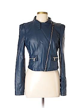 Shinestar Faux Leather Jacket Size L