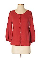 New York Studio Women Silk Cardigan Size XS
