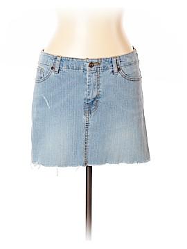Pearl Denim Skirt Size L