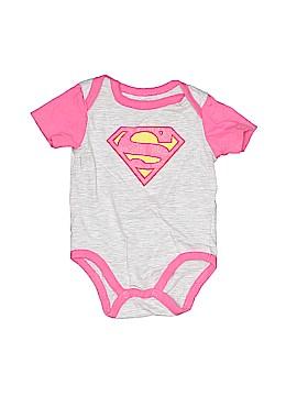 Super Girl Short Sleeve Onesie Size 0-3 mo