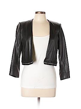 Sandro Leather Jacket Size Lg (3)