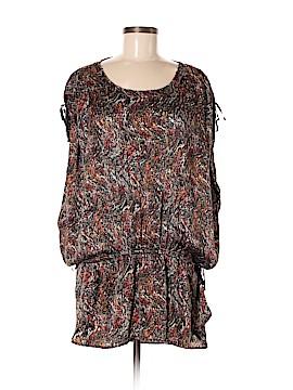 Étoile Isabel Marant Short Sleeve Silk Top Size Lg (3)