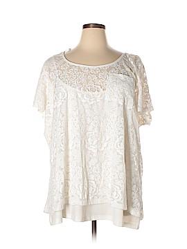 City Chic Short Sleeve Top Size XXL (Plus)