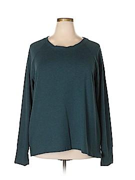 Danskin Now Sweatshirt Size 3X (Plus)