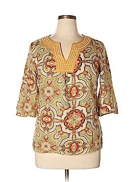 Carole Little 3/4 Sleeve Blouse Size XL