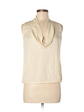 Linda Allard Ellen Tracy Sleeveless Silk Top Size 8
