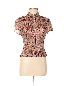 Emanuel by Emanuel Ungaro 3/4 Sleeve Silk Top Size 6