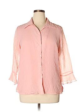 Jordan 3/4 Sleeve Blouse Size XL