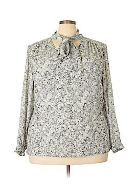 Lila Rose Long Sleeve Blouse Size 3X (Plus)