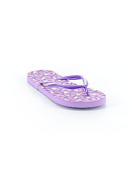Justice Flip Flops Size 7