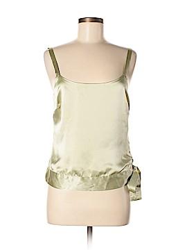 Liquid Sleeveless Silk Top Size M