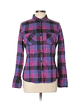 Nollie Long Sleeve Button-Down Shirt Size L