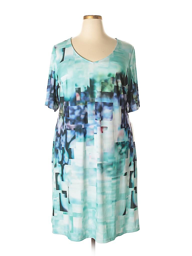 Julia Jordan Women Casual Dress Size 18 (Plus)