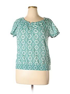 Joe Fresh Short Sleeve Blouse Size XL