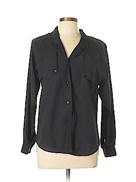 Diane von Furstenberg Long Sleeve Button-Down Shirt Size 10