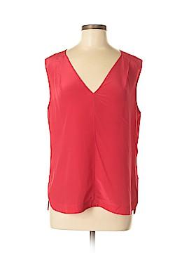 Rachel Roy Short Sleeve Silk Top Size M