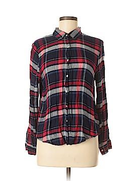 GB Long Sleeve Button-Down Shirt Size M