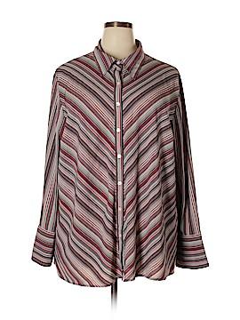 Maggie Barnes Long Sleeve Blouse Size 3X (Plus)