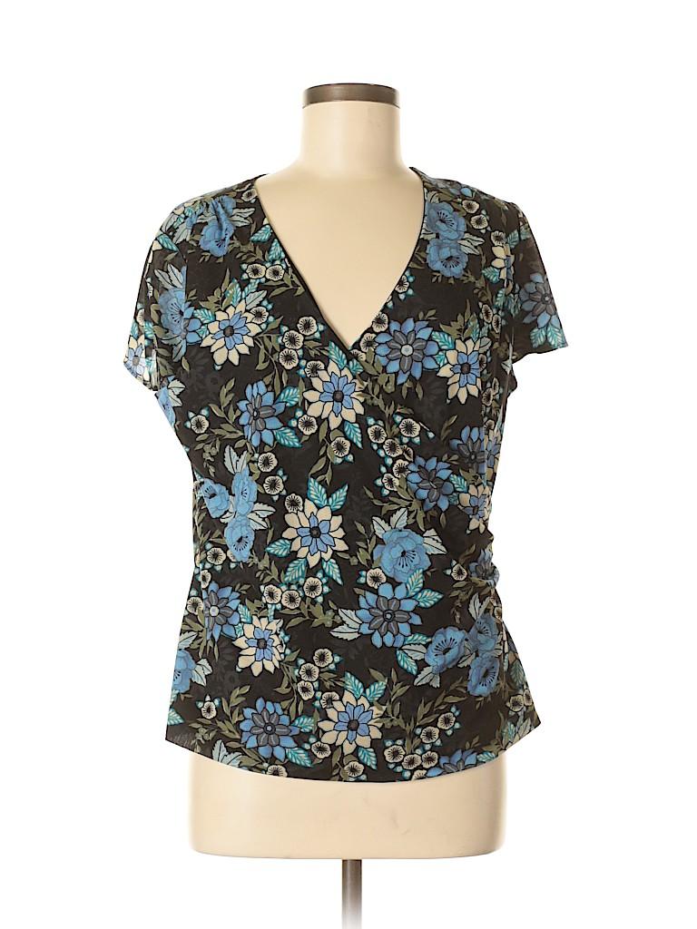 Sag Harbor Women Sleeveless Blouse Size M