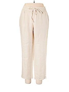 Style&Co Linen Pants Size 1X (Plus)
