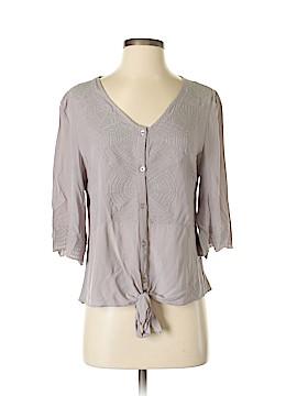 L'affaire Short Sleeve Button-Down Shirt Size S