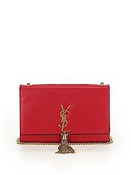 Saint Laurent Leather Crossbody Bag One Size