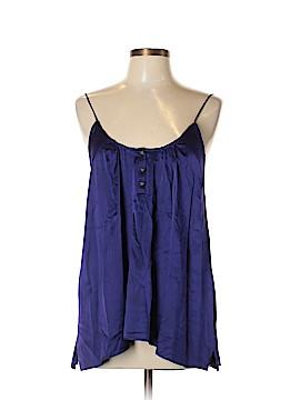 MYNE Sleeveless Silk Top Size 8