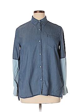 Vince. Long Sleeve Button-Down Shirt Size M