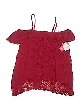 Xhilaration Short Sleeve Blouse Size XS