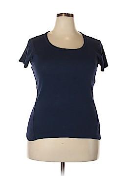 August Silk Short Sleeve T-Shirt Size XL