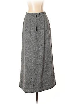 Garnet Hill Silk Skirt Size 4