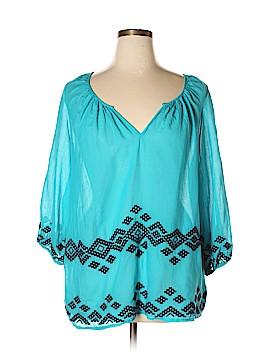 StyleStalker 3/4 Sleeve Blouse Size XL