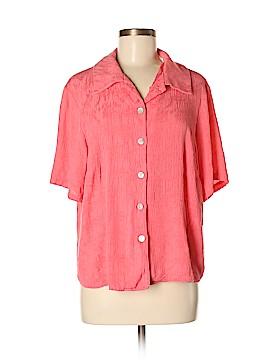 R&K Short Sleeve Blouse Size 16 W