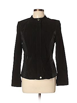 Isaac Mizrahi LIVE! Leather Jacket Size 8
